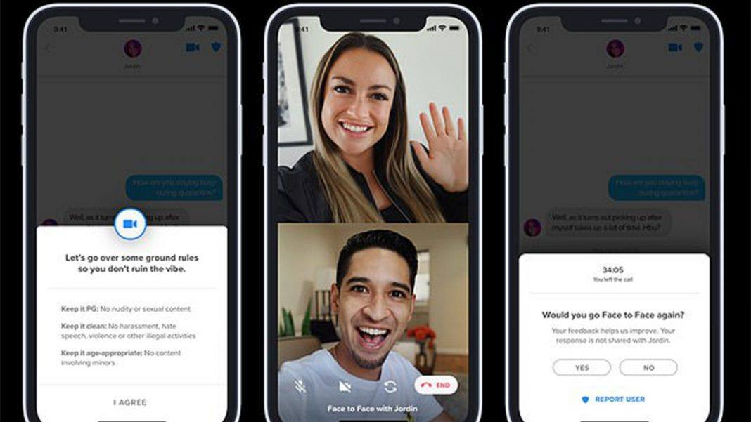 Now you can do Video Call on Tinder with its Face to Face feature